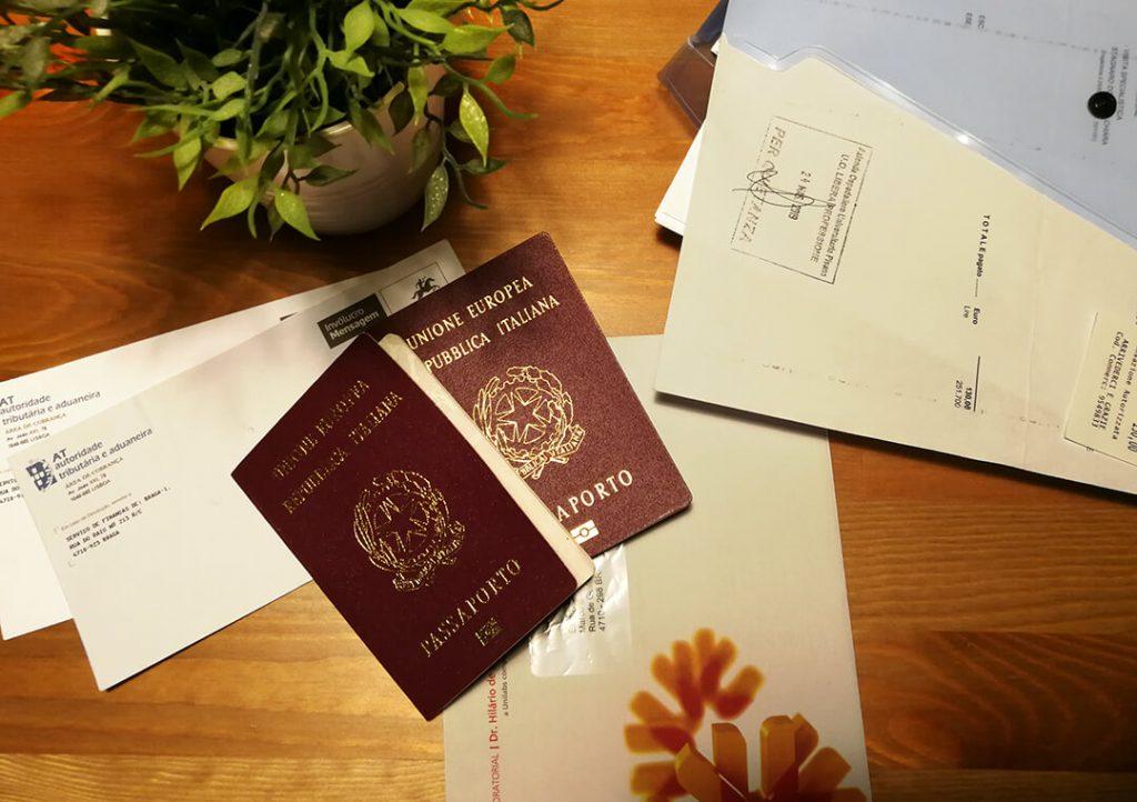 Documenti - trasferirsi in Portogallo