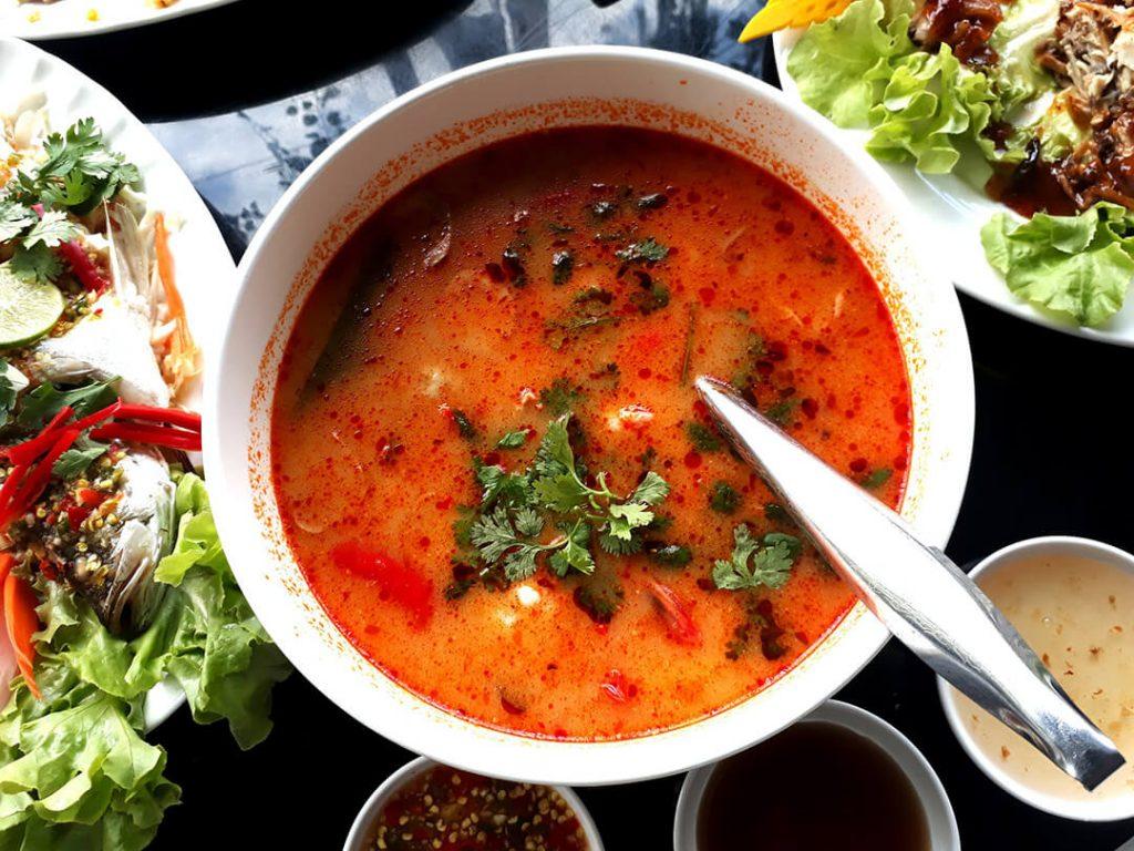 Tom yum kung - piatti da provare in Thailandia